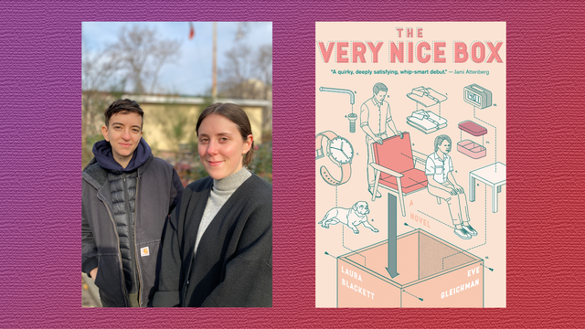 'the very nice box,' eve gleichman and laura blackett's debut novel, find common ground in quirk and quiet emotion
