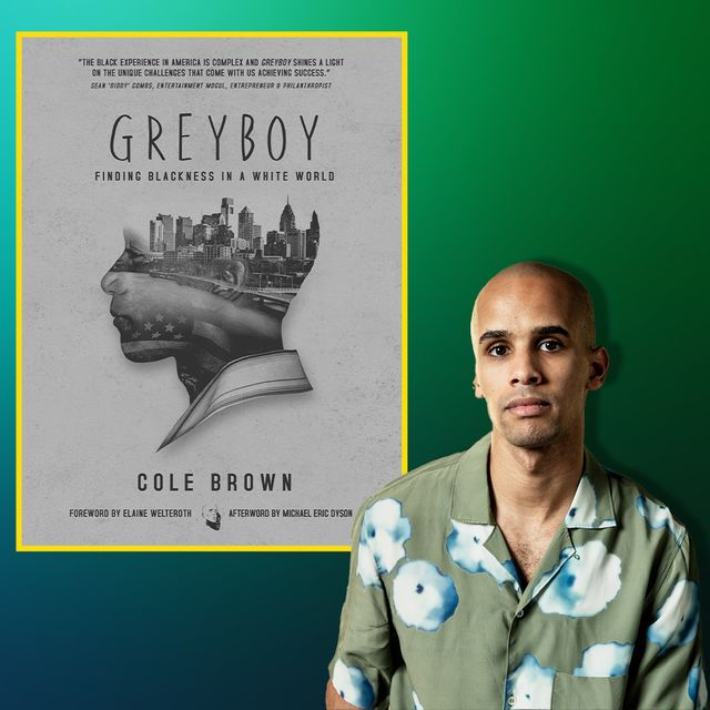 cole brown, author of grey boy finding blackness in a white world