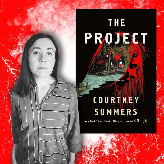 """courtney summers, author of """"the project"""""""