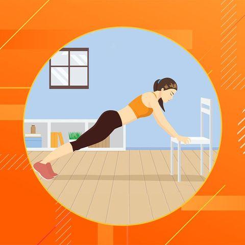 Orange, Flip (acrobatic), Jumping, Stretching, Illustration, Physical fitness, Balance, Exercise,