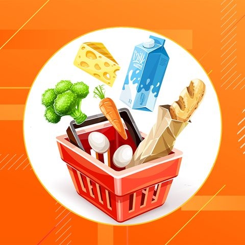 Food group, Junk food, Food, Illustration, Fast food, Side dish, Meal, Take-out food, Clip art,