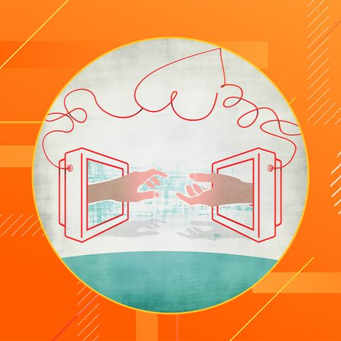 Orange, Circle, Illustration, Line, Font, Logo, Symbol, Graphic design, Icon, Graphics,