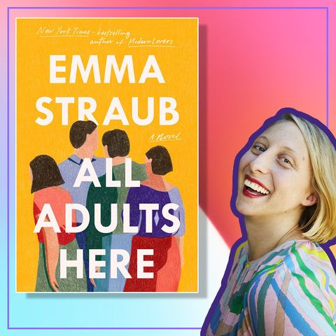 """emma straub, author of """"all adults are here"""""""