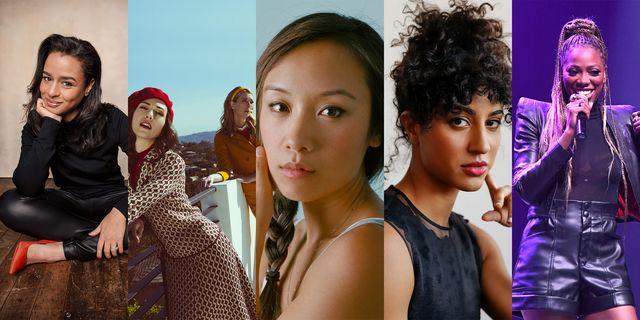 sarah cooper, jocelyn deboer and dawn luebbe, vella lovell, yvonne orji, ellen wong