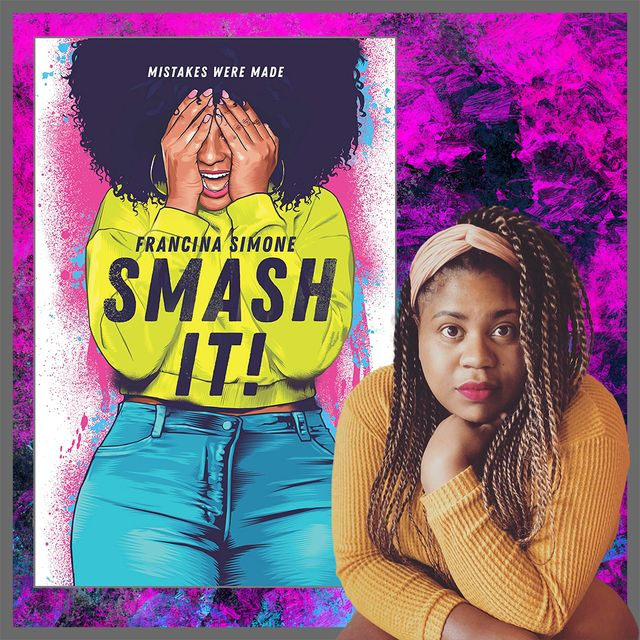 francina simone with her book smash it