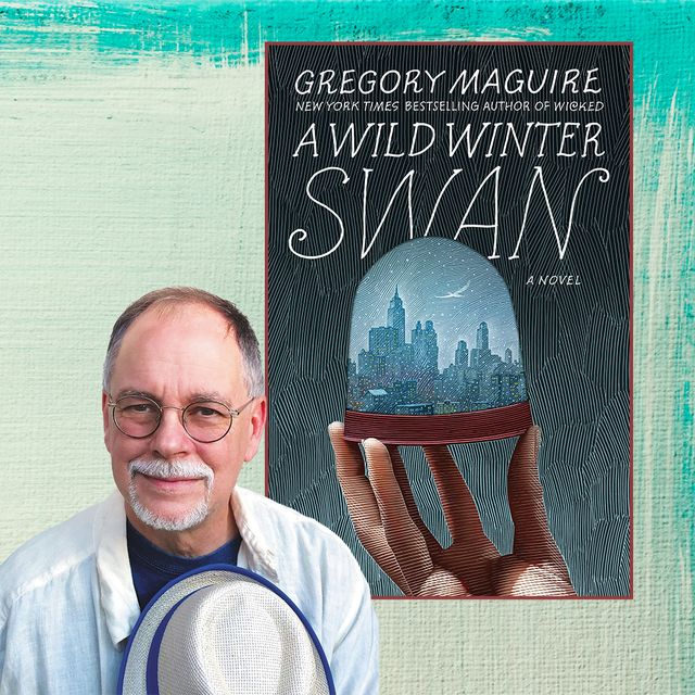 """gregory maguire, author of """"a wild winter swan"""""""