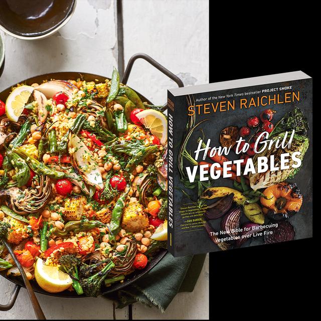 steven raichlen paella how to grill vegetables