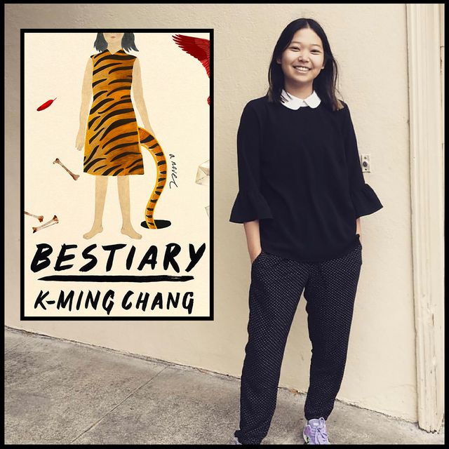 """k ming chang, author of """"bestiary"""""""