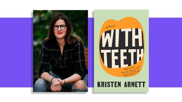 kristen arnett, author of with teeth