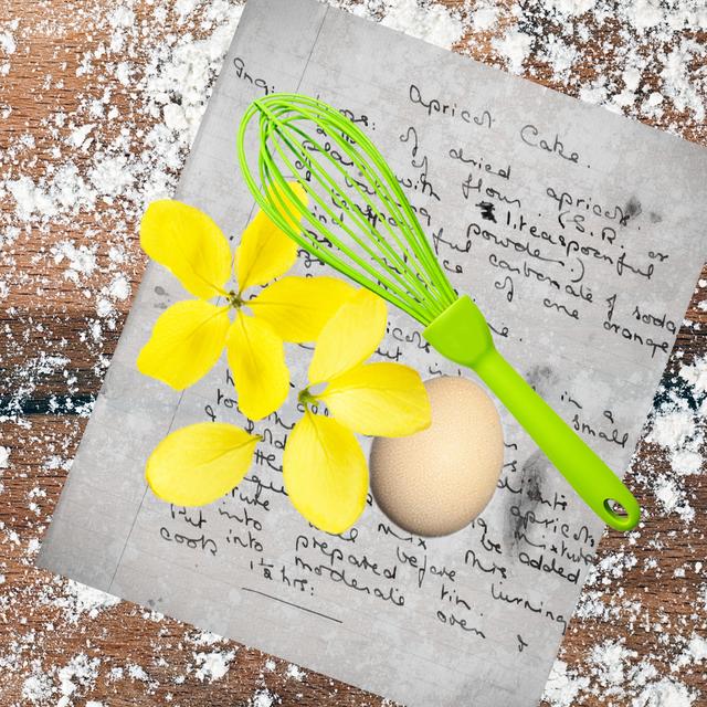floured surface, recipe, egg, whisk