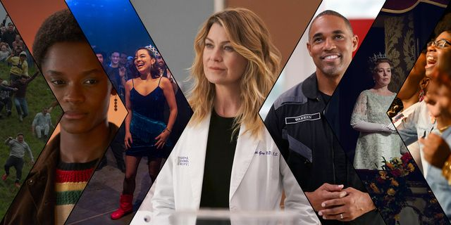november tv grey's anatomy, station 19, the crown, small axe