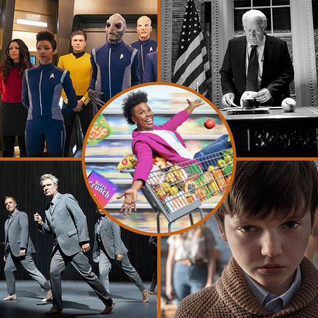 october tv preview supermarket sweep, the west wing, the haunting of bly manor, star trek discovery, david byrne's american utopia