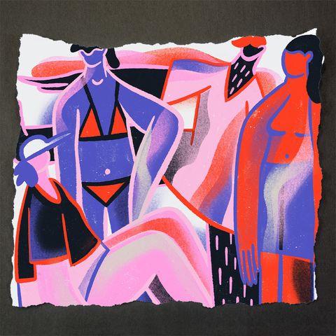 Modern art, Art, Graffiti, Illustration, Painting, Visual arts, Street art, Acrylic paint, Textile, Graphic design,