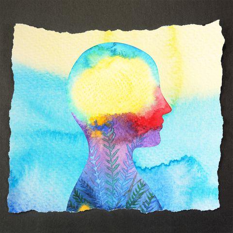 Blue, Watercolor paint, Child art, Illustration, Art, Painting, Paint, Modern art, Drawing, Visual arts,