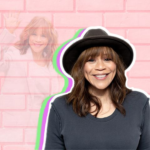 How Rosie Perez Found Her Way to Being a Mental Health Advocate