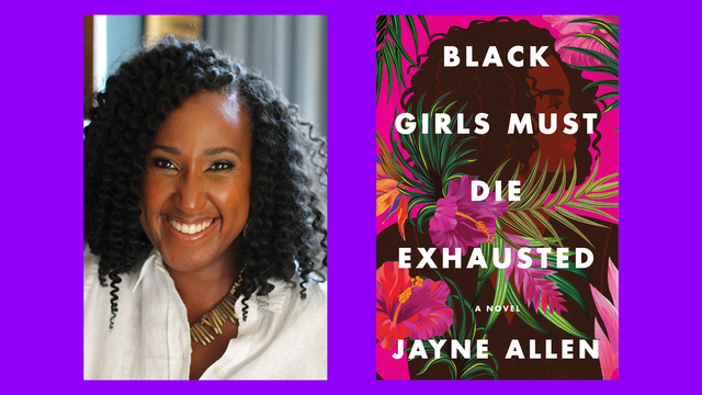 jayne allen wants to turn the word 'exhausted' into something more