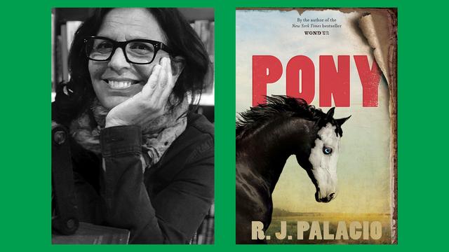 rj palacio on her genrebending novel 'pony'