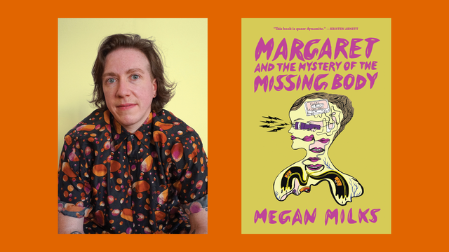 megan milks, author of margaret and the mystery of the missing body