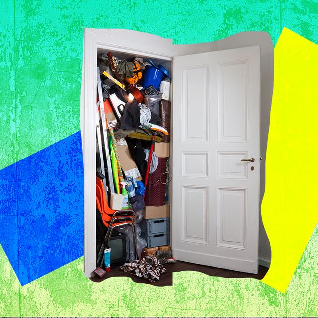 messing closet