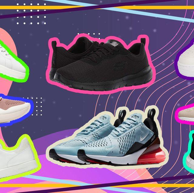 Shoe, Footwear, Running shoe, Outdoor shoe, Walking shoe, Sneakers, Pink, Athletic shoe, Line, Illustration,