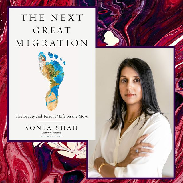 sonia shah and her book cover