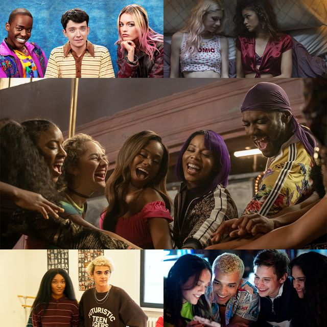 diverse tv shows pvalley, generation, sex education, we are who we are, euphoria