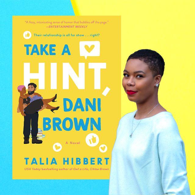 talia hibbert and her book take a hint