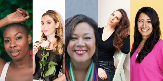 five women changing the way we think about romance jimanekia eborn, emily hahn, jasmine guillory, hayley quinn, priti joshi