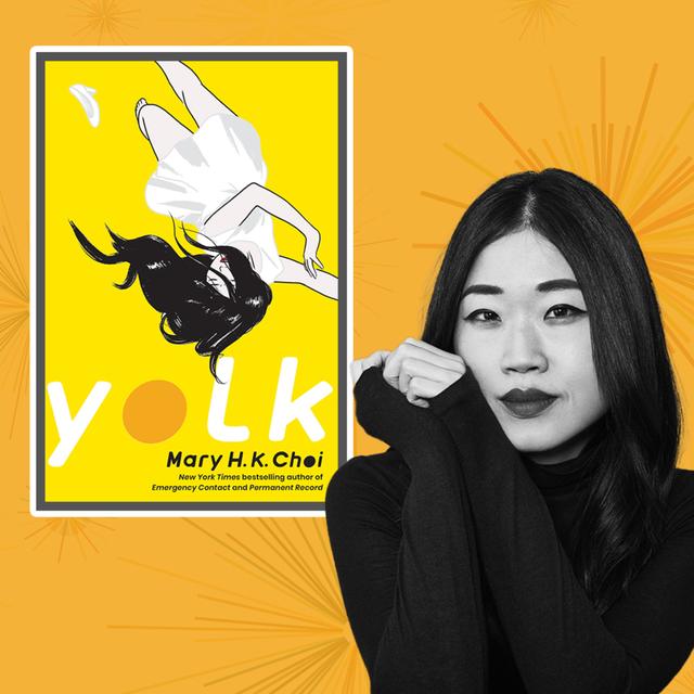 "author mary hk choi author of ""yolk"""