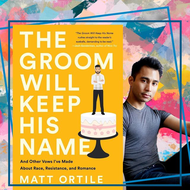matt ortile and the cover of his book