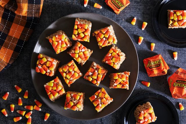 turning halloween candy into delicious treats
