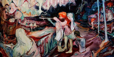 Painting, Art, Modern art, Visual arts, Acrylic paint, Illustration, Artwork, Artist, Paint, Mural,