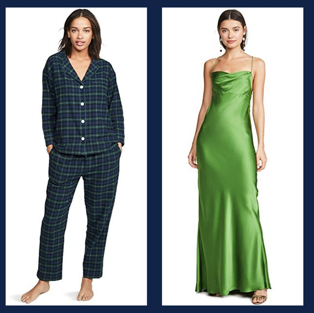 Clothing, Dress, Fashion model, Green, Shoulder, Formal wear, Day dress, Fashion, Pattern, Pattern,