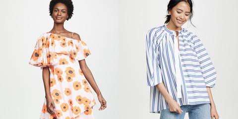 Clothing, Sleeve, Orange, Day dress, Pattern, Neck, Shoulder, Dress, Pattern, Design,