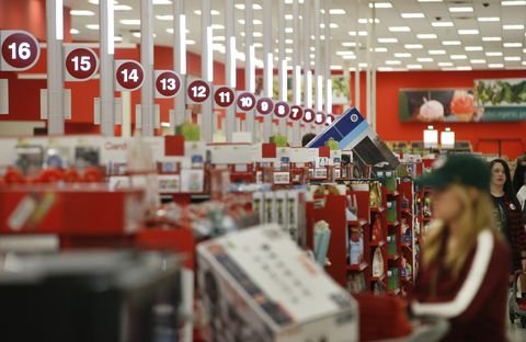 Holiday Shoppers Get An Early Start On Thanksgiving Day