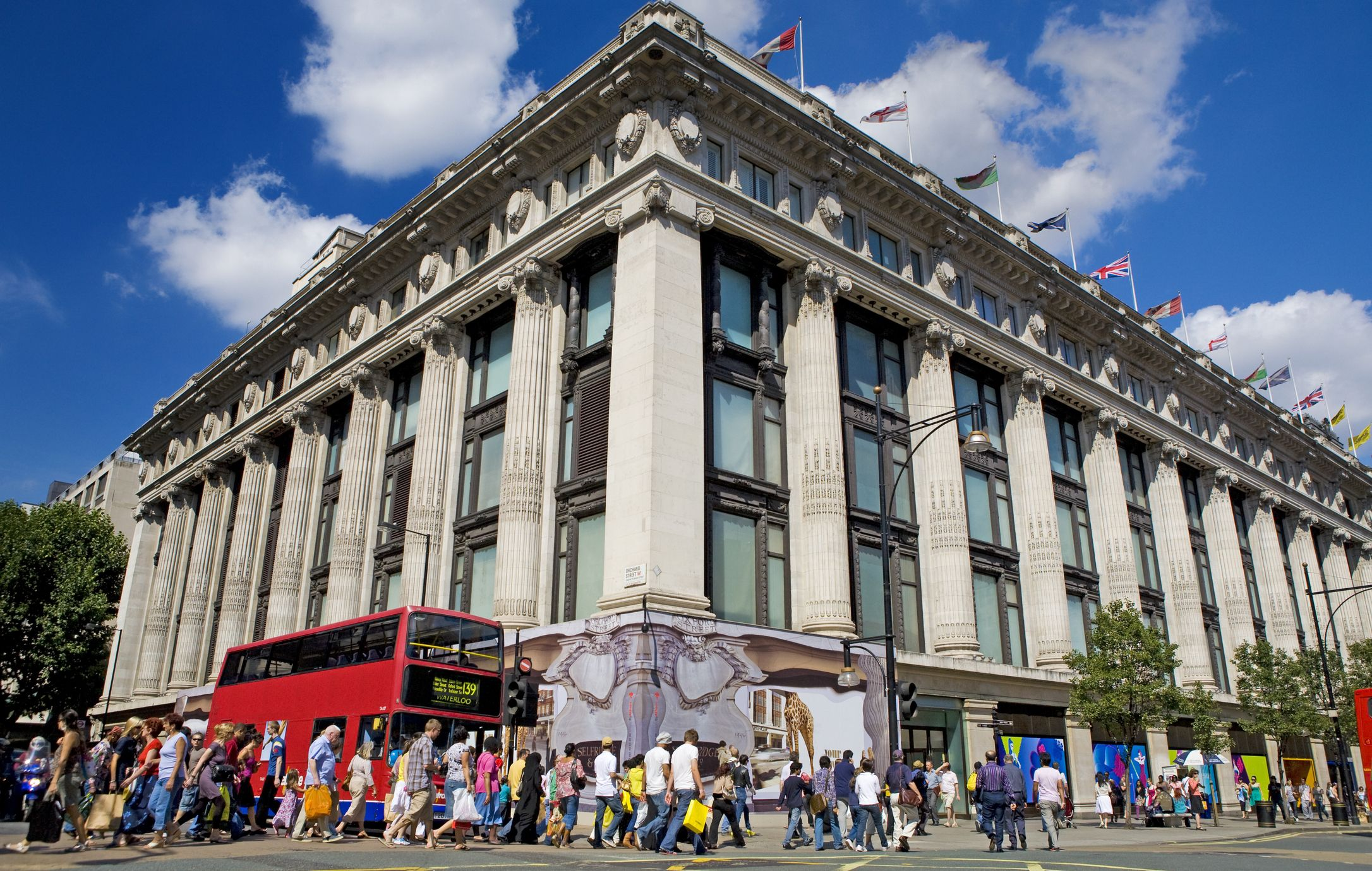 You can now get married at Selfridges