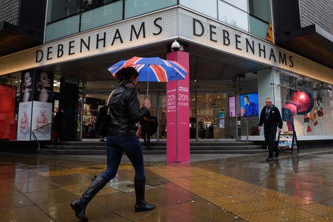 Debenhams stores closing