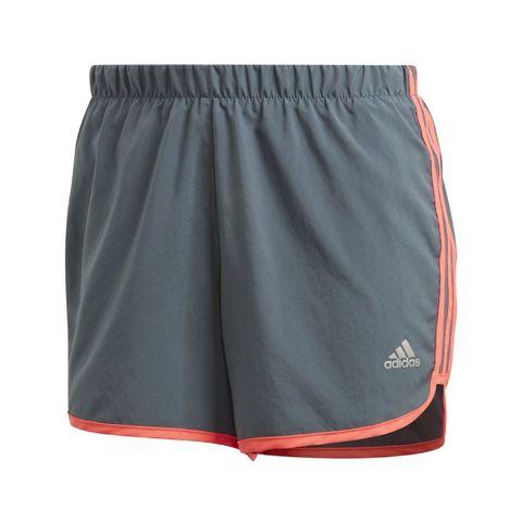 adidas shorts korte broeken dames grijs oranje