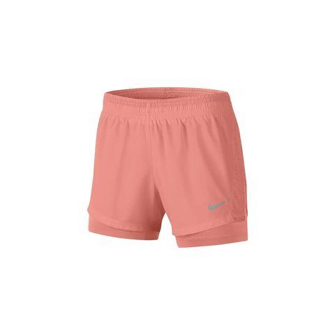 nike shorts korte broek hardloopkleding oranje