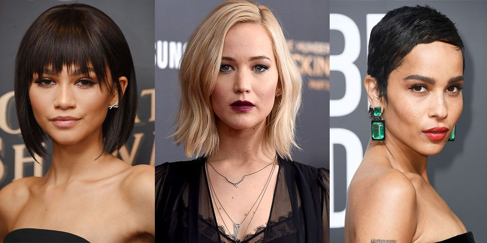 45 Cute Short Haircuts for Women 2019 , Short Celebrity