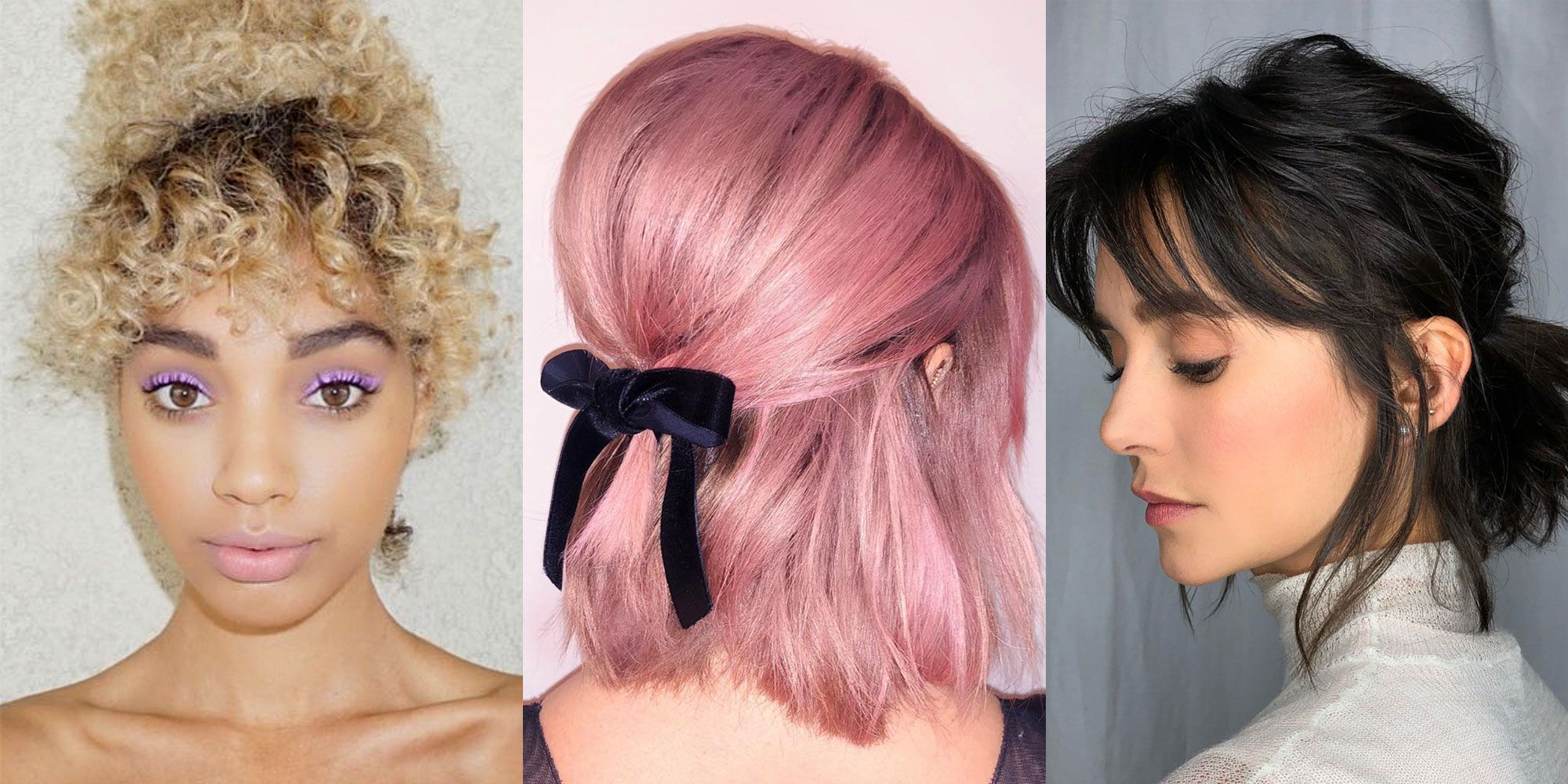 11 Short Hair Ponytail Hairstyles You Need to Try \u2013 Cute