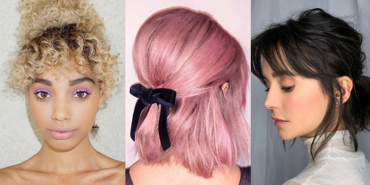 11 Short Hair Ponytail Hairstyles You Need To Try Cute Updos For Short Haircuts