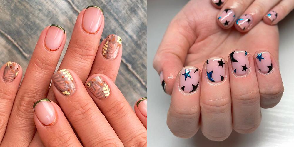 13 Best Nail Art For Short Nails Short Nail Designs