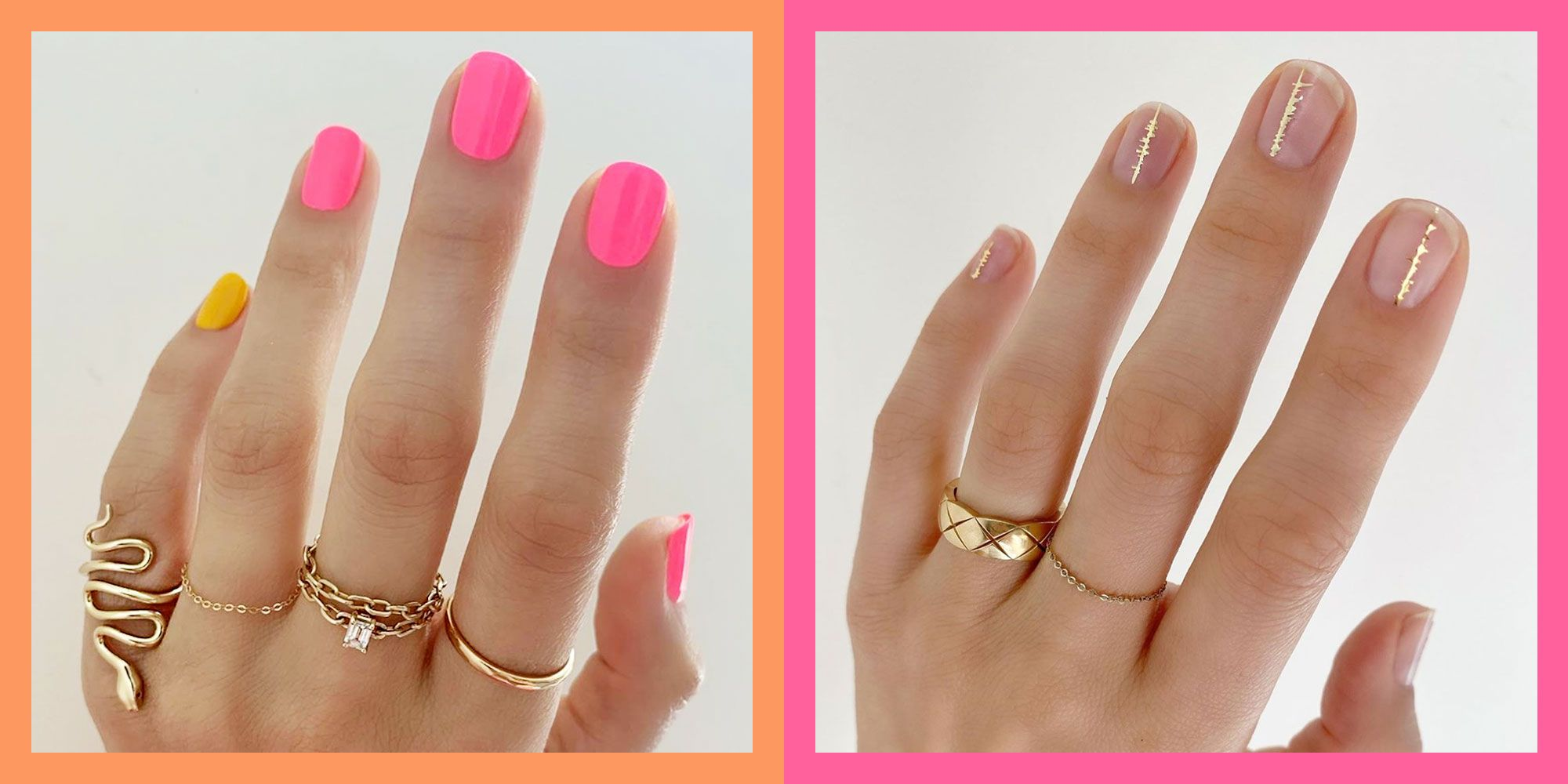 15 Short Nail Ideas and Designs to Add to Your Mani Rotation