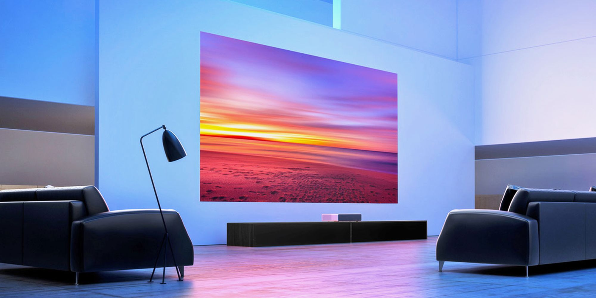 Once You See These Short-Throw Projectors, You'll Never Want to Look at a TV Again