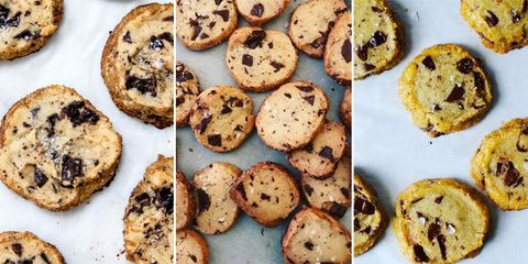 Food, Dish, Chocolate chip cookie, Ingredient, Cuisine, Cookie, Baked goods, Chocolate chip, Snack, Dessert,