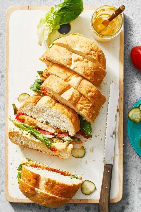 shortcut crispy chicken sandwich
