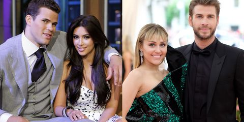 shortest hollywood marriages