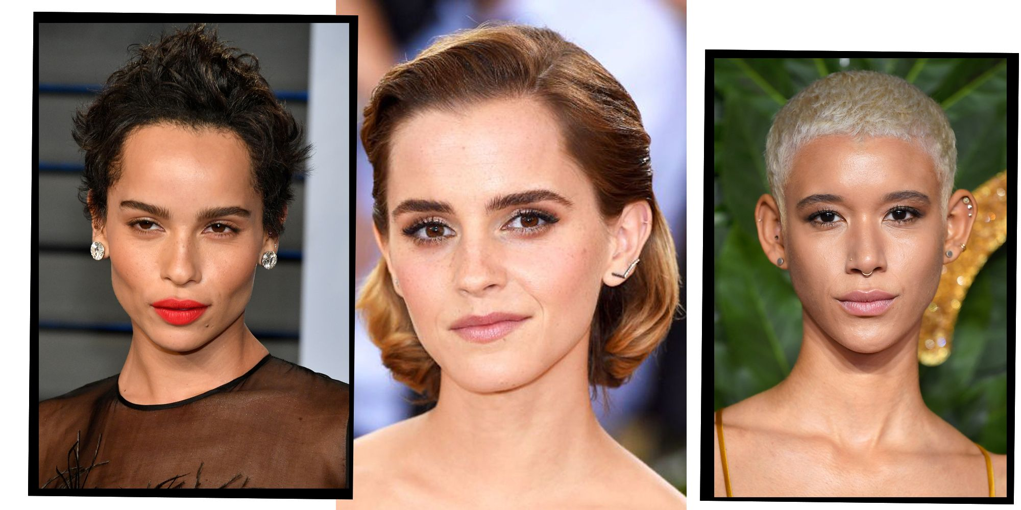24 Best Short Hair Styles Bobs Pixie Cuts And More Celebrity
