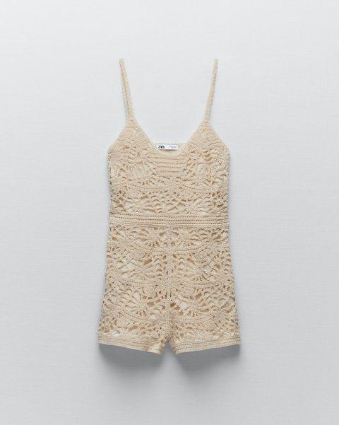 cinco shorts de crochet de rebajas en zara